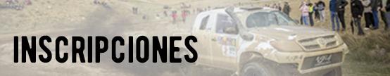Inscripciones - Rallye TT Cuenca