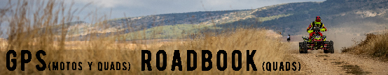 Inscripciones GPS (motos y quads) Roadbook (quads)